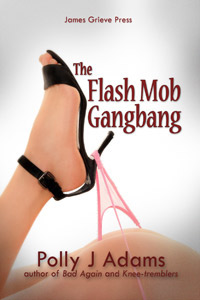 Flash Mob Gangbang by Polly J Adams (gangbangs, gang bang, bukkake, snowballing, cybersex, orgy, group sex, sex with strangers, multiple partners, oral sex, flash mob, flashmob, erotic fiction, sexual fantasies, public sex)