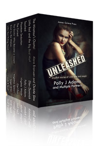 Unleashed: explicit stories of wild love and magic by Polly J Adams, Ruby Fielding and Multiple Partners (paranormal erotica, werewolves, adult fairy tales, werewolf, shifter, witch sex, supernatural sex, paranormal romance, paranormal erotic romance, witchcraft sex, sex hauntings, enchantment, shifter sex, time travel erotica, erotic sci fi)